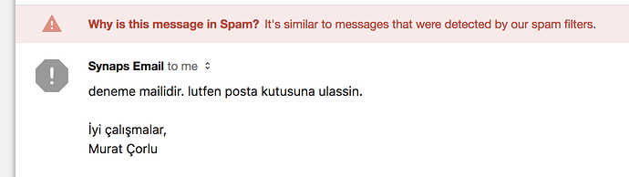 Everything is green but it delivers to spam - Help with Setup - Mail