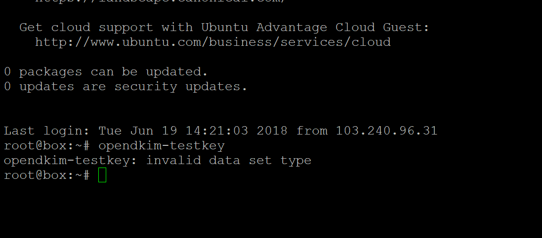 DKIM Signature header exists but is not valid - Maintenance - Mail